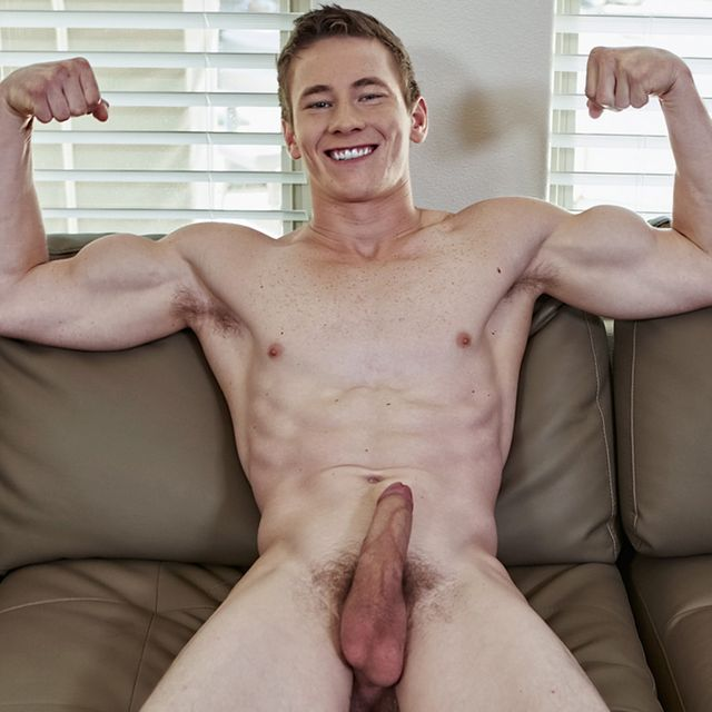 21 Year-Old Rocky Jerks His Uncut Cock Off! | Daily Dudes @ Dude Dump