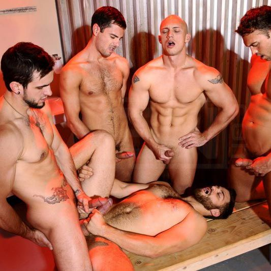 4 hot studs take turns fucking Tommy Defendi's a | Daily Dudes @ Dude Dump