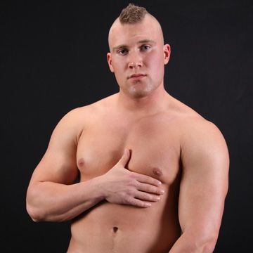 Beefy Jock with Mohawk | Daily Dudes @ Dude Dump