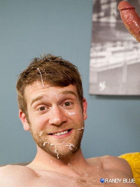Colby Keller's Cum Facial   Daily Dudes @ Dude Dump