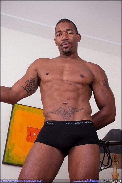 Scott The Sexy Black Daddy   Daily Dudes @ Dude Dump
