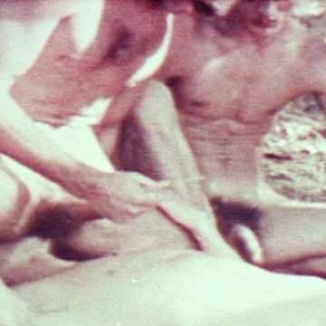 Classic Bareback Outdoor Threeway | Daily Dudes @ Dude Dump