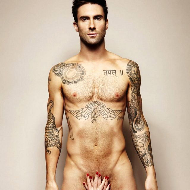 Naked As Adam: Adam Levine | Daily Dudes @ Dude Dump