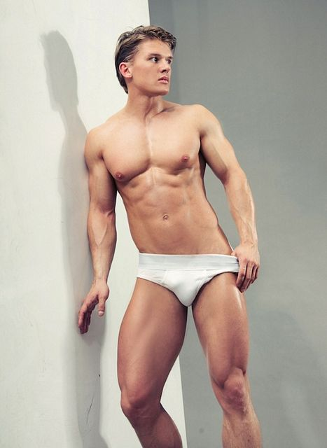 Polish Model Lukasz Looks Stunning In Underwear! | Daily Dudes @ Dude Dump