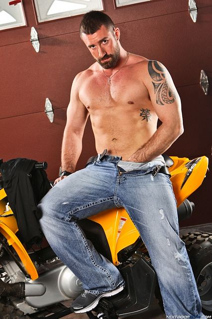 Hairy Muscle Bear Vinny Castillo   Daily Dudes @ Dude Dump
