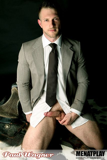 Paul Wagner Strokes in Suit | Daily Dudes @ Dude Dump