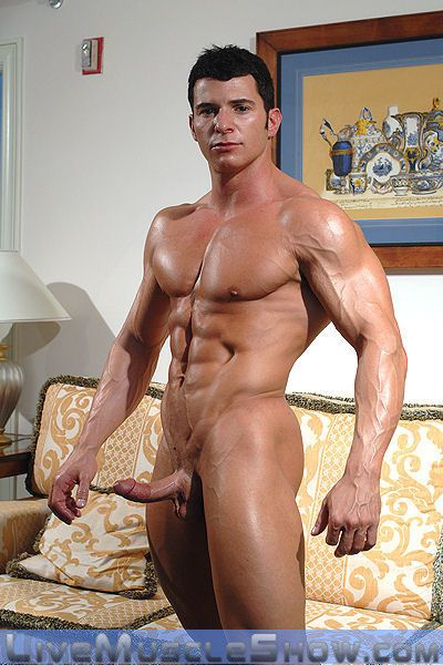 Muscle Man Jerking Off – Tony Da Vinci Naked | Daily Dudes @ Dude Dump