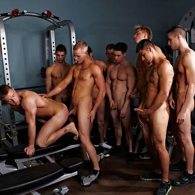 Hot College Jock Orgy | Daily Dudes @ Dude Dump
