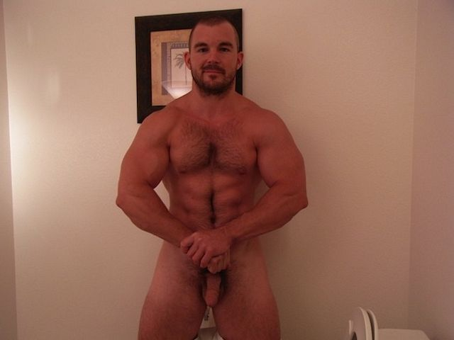 Jeff At Str8Cam – Muscle Piss And Cum   Daily Dudes @ Dude Dump