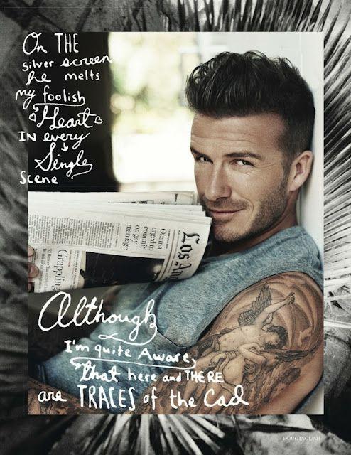 David Beckham by Doug Inglish | Daily Dudes @ Dude Dump