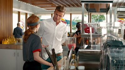 David Beckham's Latest Burger King Commercial | Daily Dudes @ Dude Dump