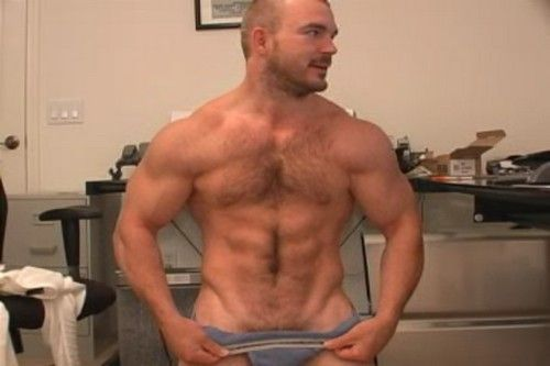 Muscle Jerk-Off Video With Bodybuilder Jeff | Daily Dudes @ Dude Dump