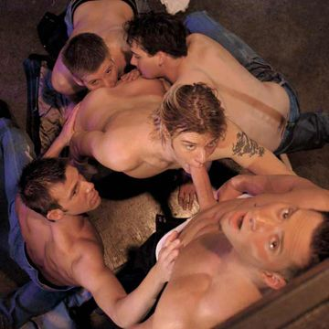 JocksStudios.com: Hunter James gag bang | Daily Dudes @ Dude Dump