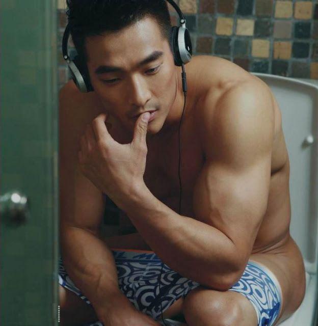 Jin Xiankui for Tiku Underwear Ad Campaign | Daily Dudes @ Dude Dump