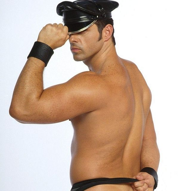 Leather daddy Dino DiMarco | Daily Dudes @ Dude Dump