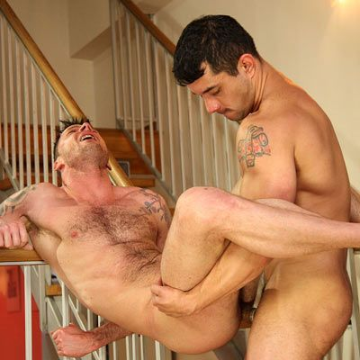 Gio Cruz Fucks Eric North's Ass Deep | Daily Dudes @ Dude Dump