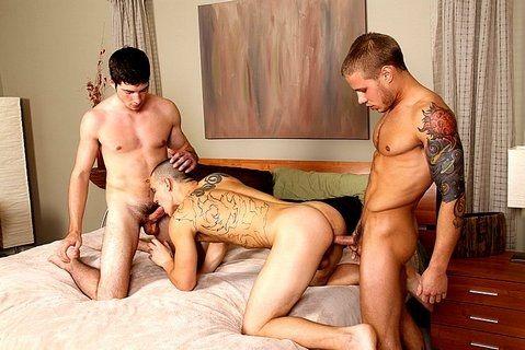 Anal stimulation does straight boy good   Daily Dudes @ Dude Dump