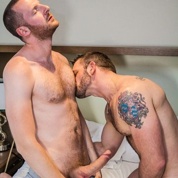 Tim Kruger Fucks Morgan Black | Daily Dudes @ Dude Dump