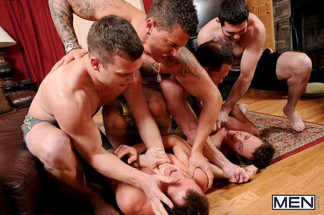 The Rosso Twins Gay Jock Orgy | Gay Jock Cock | Daily Dudes @ Dude Dump