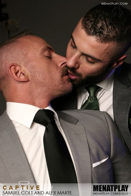 Man At Play | Alex Marte and Samuel Colt | Daily Dudes @ Dude Dump