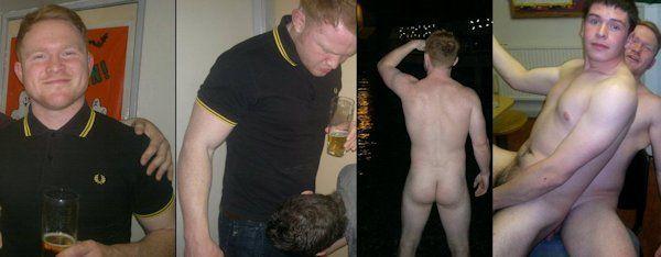 Ryan Ginelly; Former Leeds Uni Simulates Gay Sex   Daily Dudes @ Dude Dump