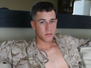 Bernardo-The Straight Latino Marine | Daily Dudes @ Dude Dump
