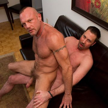 Anthony Todd & Chad Brock Bareback | Daily Dudes @ Dude Dump