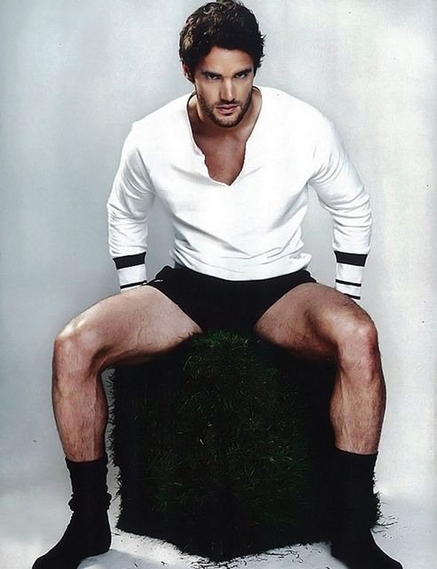 Rugby Hunk Thom Evans | Daily Dudes @ Dude Dump