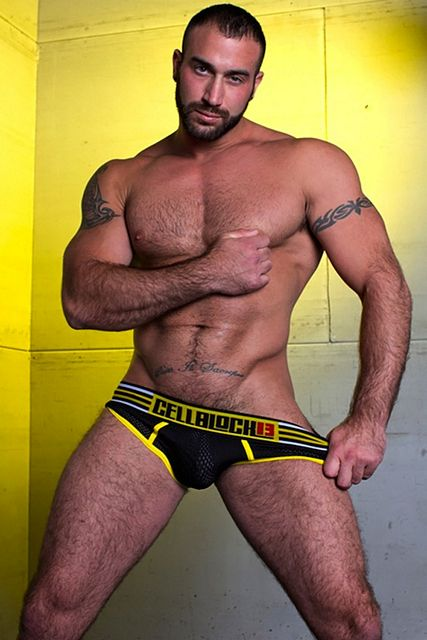 Spencer Reed Goes Mainstream For CellBlock13 | Daily Dudes @ Dude Dump
