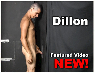 Uncut Military Latino Shoots a Huge Gloryhole Load | Daily Dudes @ Dude Dump