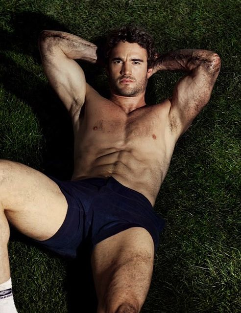 Sporty Muscle – Thom Evans | Daily Dudes @ Dude Dump