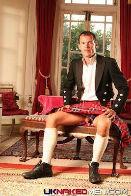 Scottish Guy Shows Us What's Under His Kilt? | Daily Dudes @ Dude Dump