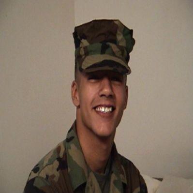 Reggie the Marine Get First Gay BJ   Daily Dudes @ Dude Dump