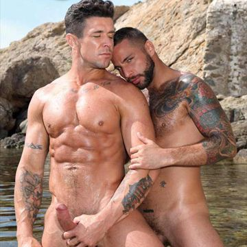 Lovers Jonathan Agassi and Trenton Ducati | Daily Dudes @ Dude Dump