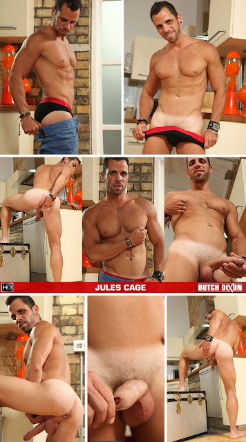 Jules Cage Strips, Jerks Off, And Fucks A Sex Toy! | Daily Dudes @ Dude Dump