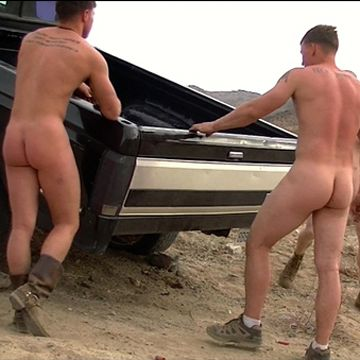 MyStraightBuddy.com presents 3 NAKED BROS CHILLIN | Daily Dudes @ Dude Dump