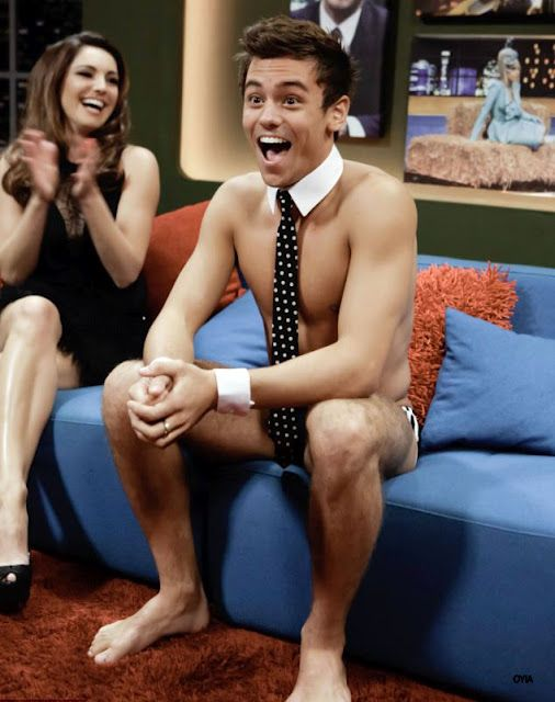 Tom Daley At The Jonathan Ross Show And His Tattoo | Daily Dudes @ Dude Dump