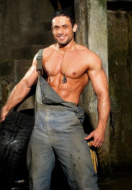 Adrian F – Muscled Mechanic | Daily Dudes @ Dude Dump