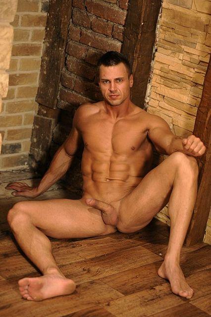 European Muscle Jock Jan Poliak Wanking | Daily Dudes @ Dude Dump