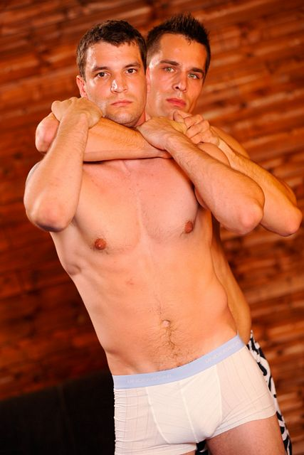 Hot Naked Wrestling Jocks Cock To Cock Grappling | Daily Dudes @ Dude Dump