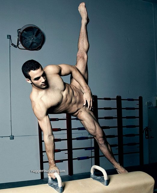Ruggerbugger – Danell Leyva Gets Naked | Daily Dudes @ Dude Dump