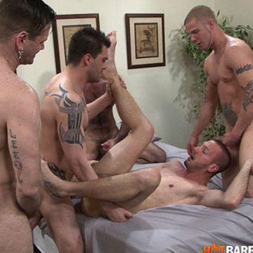 HotBarebaking.com presents Dylans Bareback Orgy | Daily Dudes @ Dude Dump