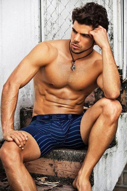 Shiny Jock Guy In Underwear   Daily Dudes @ Dude Dump