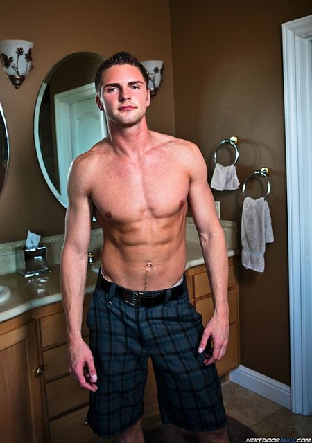 Getting Naked With Hung Jock Campbell Stevens | Daily Dudes @ Dude Dump