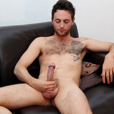 Riley Tess busts a heavy load | Daily Dudes @ Dude Dump