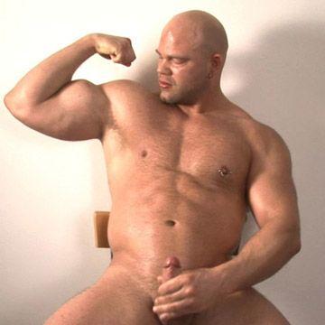 Bald Muscle Man   Daily Dudes @ Dude Dump