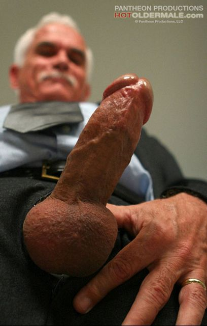 Daddy pull his big cock | Daily Dudes @ Dude Dump