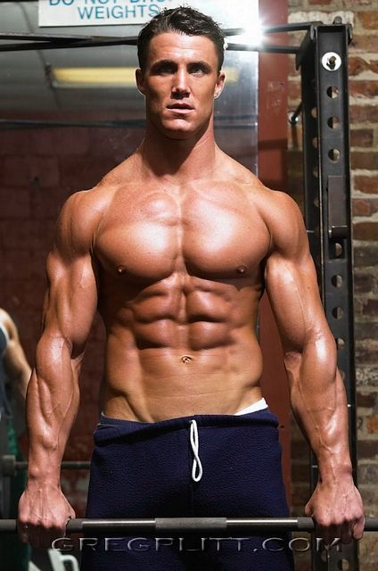 More Of Muscled Hunk Greg Plitt | Daily Dudes @ Dude Dump