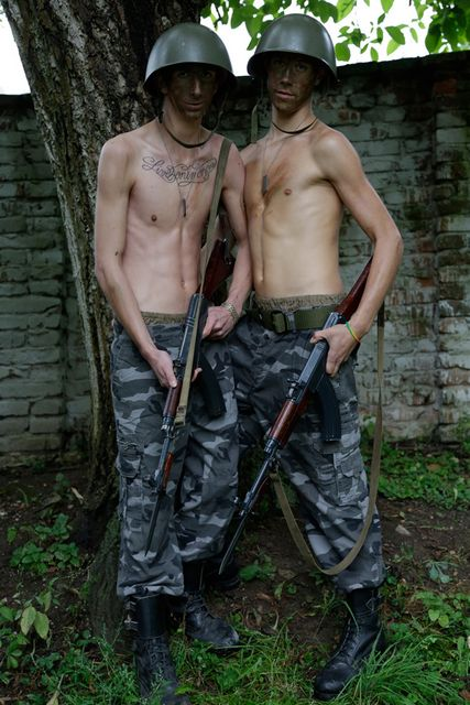 Will Jones and Zack Todd in Uniform Fuck Fest at | Daily Dudes @ Dude Dump