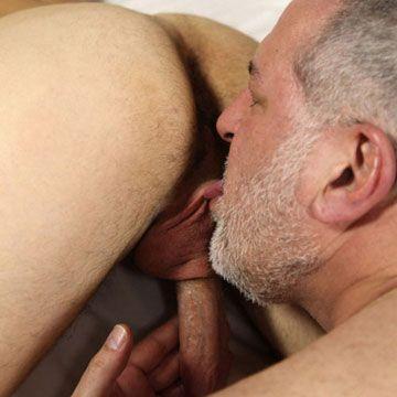 Gay bear granpa licks fat cock   Daily Dudes @ Dude Dump